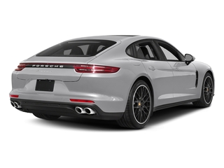 GT Silver Metallic 2017 Porsche Panamera Pictures Panamera Hatchback 4D 4 AWD V6 Turbo photos rear view