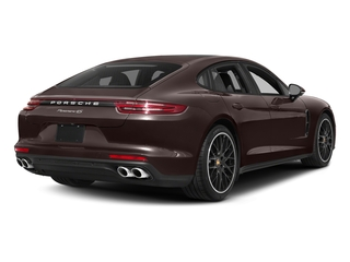 Mahogany Metallic 2017 Porsche Panamera Pictures Panamera Hatchback 4D 4 AWD V6 Turbo photos rear view