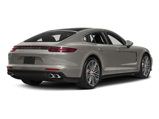 Agate Grey Metallic 2017 Porsche Panamera Pictures Panamera Turbo Executive AWD photos rear view