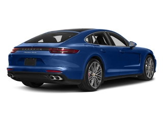 Sapphire Blue Metallic 2017 Porsche Panamera Pictures Panamera Turbo Executive AWD photos rear view