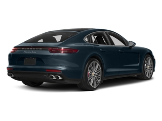 Night Blue Metallic 2017 Porsche Panamera Pictures Panamera Turbo Executive AWD photos rear view