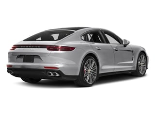GT Silver Metallic 2017 Porsche Panamera Pictures Panamera Turbo Executive AWD photos rear view