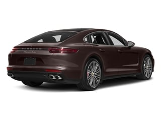 Mahogany Metallic 2017 Porsche Panamera Pictures Panamera Turbo Executive AWD photos rear view