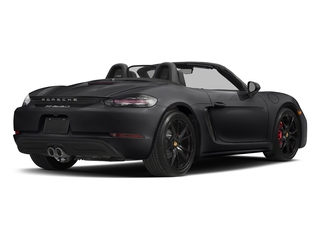 Black 2017 Porsche 718 Boxster Pictures 718 Boxster Roadster 2D S H4 Turbo photos rear view