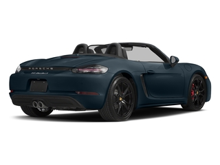 Night Blue Metallic 2017 Porsche 718 Boxster Pictures 718 Boxster Roadster 2D S H4 Turbo photos rear view