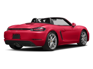 Guards Red 2017 Porsche 718 Boxster Pictures 718 Boxster Roadster 2D H4 Turbo photos rear view