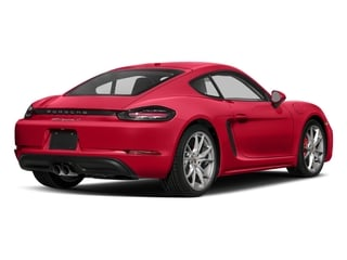Guards Red 2017 Porsche 718 Cayman Pictures 718 Cayman Coupe 2D S H4 Turbo photos rear view
