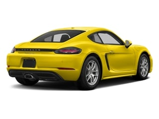 Racing Yellow 2017 Porsche 718 Cayman Pictures 718 Cayman Coupe 2D H4 Turbo photos rear view