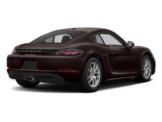 Mahogany Metallic 2017 Porsche 718 Cayman Pictures 718 Cayman Coupe 2D H4 Turbo photos rear view