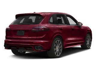 Carmine Red 2017 Porsche Cayenne Pictures Cayenne Utility 4D GTS AWD V6 Turbo photos rear view