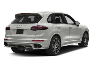White 2017 Porsche Cayenne Pictures Cayenne Utility 4D GTS AWD V6 Turbo photos rear view