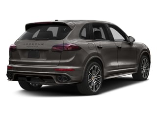 Meteor Grey Metallic 2017 Porsche Cayenne Pictures Cayenne Utility 4D GTS AWD V6 Turbo photos rear view