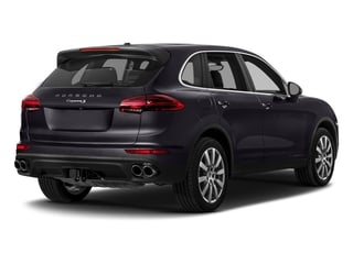 Purpurite Metallic 2017 Porsche Cayenne Pictures Cayenne Utility 4D S AWD V6 Turbo photos rear view