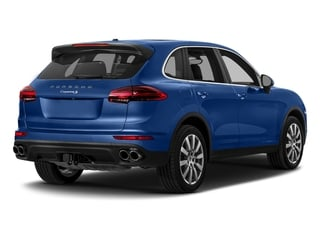 Sapphire Blue Metallic 2017 Porsche Cayenne Pictures Cayenne Utility 4D S AWD V6 Turbo photos rear view