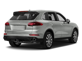 Rhodium Silver Metallic 2017 Porsche Cayenne Pictures Cayenne Utility 4D S AWD V6 Turbo photos rear view