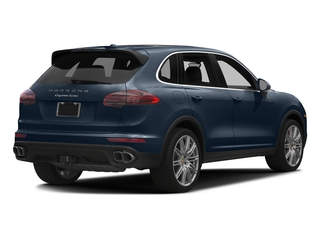 Moonlight Blue Metallic 2017 Porsche Cayenne Pictures Cayenne Utility 4D S AWD V8 Turbo photos rear view