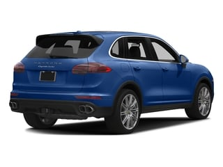 Sapphire Blue Metallic 2017 Porsche Cayenne Pictures Cayenne Utility 4D AWD V8 Turbo photos rear view