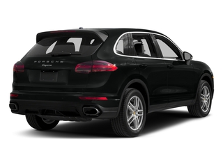 Jet Black Metallic 2017 Porsche Cayenne Pictures Cayenne AWD photos rear view