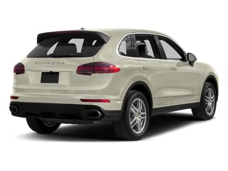 Carrara White Metallic 2017 Porsche Cayenne Pictures Cayenne AWD photos rear view