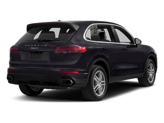 Purpurite Metallic 2017 Porsche Cayenne Pictures Cayenne AWD photos rear view