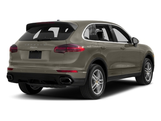 Palladium Metallic 2017 Porsche Cayenne Pictures Cayenne AWD photos rear view