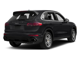 Black 2017 Porsche Cayenne Pictures Cayenne Utility 4D AWD V6 photos rear view