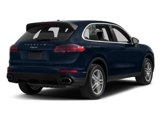 Moonlight Blue Metallic 2017 Porsche Cayenne Pictures Cayenne AWD photos rear view