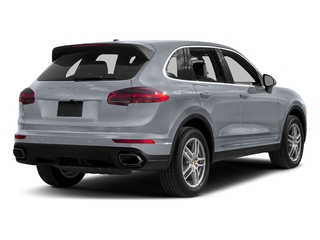 Rhodium Silver Metallic 2017 Porsche Cayenne Pictures Cayenne Utility 4D AWD V6 photos rear view
