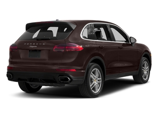 Mahogany Metallic 2017 Porsche Cayenne Pictures Cayenne Utility 4D AWD V6 photos rear view