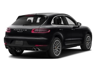 Black 2017 Porsche Macan Pictures Macan Utility 4D Performance AWD V6 Turbo photos rear view