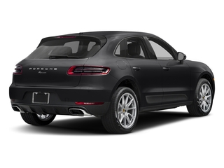 Black 2017 Porsche Macan Pictures Macan Utility 4D AWD I4 Turbo photos rear view