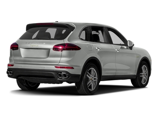 Rhodium Silver Metallic 2017 Porsche Cayenne Pictures Cayenne Utility 4D S V6 e-Hybrid AWD photos rear view