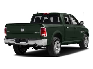 Black Forest Green Pearlcoat 2017 Ram Truck 1500 Pictures 1500 Laramie 4x4 Crew Cab 6'4 Box photos rear view