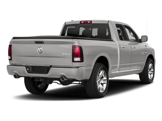 Bright Silver Metallic Clearcoat 2017 Ram Truck 1500 Pictures 1500 Quad Cab Sport 2WD photos rear view