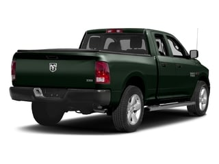 Black Forest Green Pearlcoat 2017 Ram Truck 1500 Pictures 1500 HFE 4x2 Quad Cab 6'4 Box photos rear view