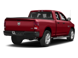 Flame Red Clearcoat 2017 Ram Truck 1500 Pictures 1500 Quad Cab HFE 2WD V6 T-Diesel photos rear view