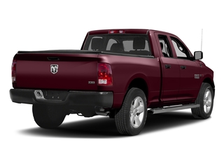Delmonico Red Pearlcoat 2017 Ram Truck 1500 Pictures 1500 HFE 4x2 Quad Cab 6'4 Box photos rear view