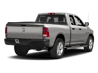 Bright Silver Metallic Clearcoat 2017 Ram Truck 1500 Pictures 1500 Quad Cab HFE 2WD V6 T-Diesel photos rear view