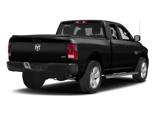 Brilliant Black Crystal Pearlcoat 2017 Ram Truck 1500 Pictures 1500 HFE 4x2 Quad Cab 6'4 Box photos rear view
