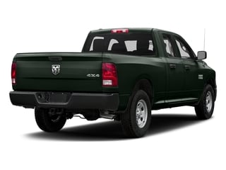 Black Forest Green Pearlcoat 2017 Ram Truck 1500 Pictures 1500 Quad Cab Tradesman 2WD photos rear view