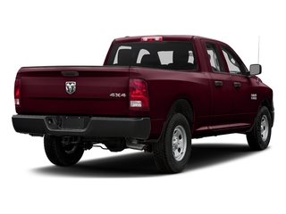 Delmonico Red Pearlcoat 2017 Ram Truck 1500 Pictures 1500 Quad Cab Express 2WD photos rear view