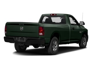 Black Forest Green Pearlcoat 2017 Ram Truck 1500 Pictures 1500 Lone Star 4x2 Regular Cab 6'4 Box photos rear view