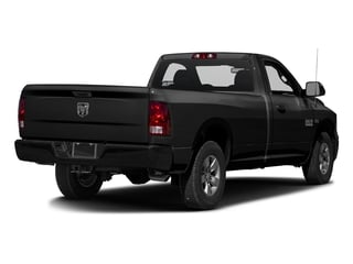 Black Clearcoat 2017 Ram Truck 1500 Pictures 1500 Lone Star 4x2 Regular Cab 6'4 Box photos rear view