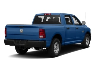 Blue Streak Pearlcoat 2017 Ram Truck 1500 Pictures 1500 Tradesman 4x4 Crew Cab 5'7 Box photos rear view