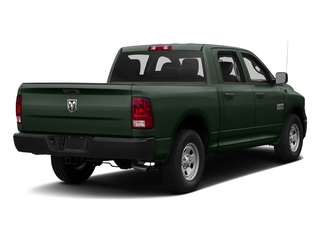 Black Forest Green Pearlcoat 2017 Ram Truck 1500 Pictures 1500 Tradesman 4x4 Crew Cab 5'7 Box photos rear view