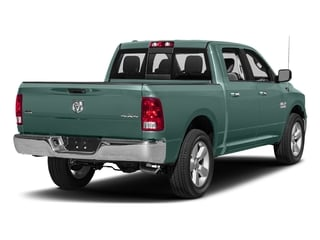 Light Green 2017 Ram Truck 1500 Pictures 1500 Big Horn 4x2 Crew Cab 6'4 Box photos rear view