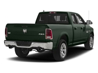 Black Forest Green Pearlcoat 2017 Ram Truck 1500 Pictures 1500 Laramie 4x4 Quad Cab 6'4 Box photos rear view
