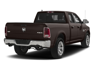 Luxury Brown Pearlcoat 2017 Ram Truck 1500 Pictures 1500 Laramie 4x4 Quad Cab 6'4 Box photos rear view