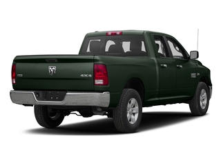 Black Forest Green Pearlcoat 2017 Ram Truck 1500 Pictures 1500 Quad Cab SLT 2WD photos rear view