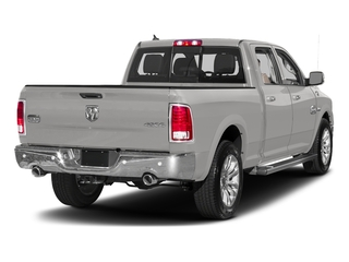 Bright Silver Metallic Clearcoat 2017 Ram Truck 1500 Pictures 1500 Longhorn 4x4 Crew Cab 6'4 Box photos rear view